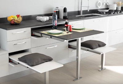 Pull Out Kitchen Table pull out tables & drawer front tables | buy online | box15