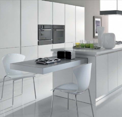 BREAKFAST Pull Out Kitchen Table | 1600mm | Frame Only. U2039 U203a