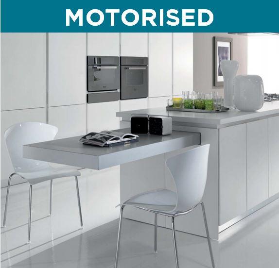 Breakfast Motorised Retractable Table Box15