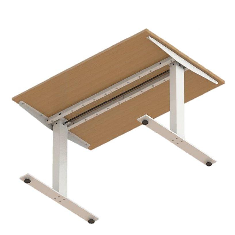 Crank Sit Stand Desk Frame Height Adjustable Box15