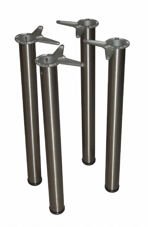76mm Round Tube Breakfast Bar Table Legs Buy Online Bpf