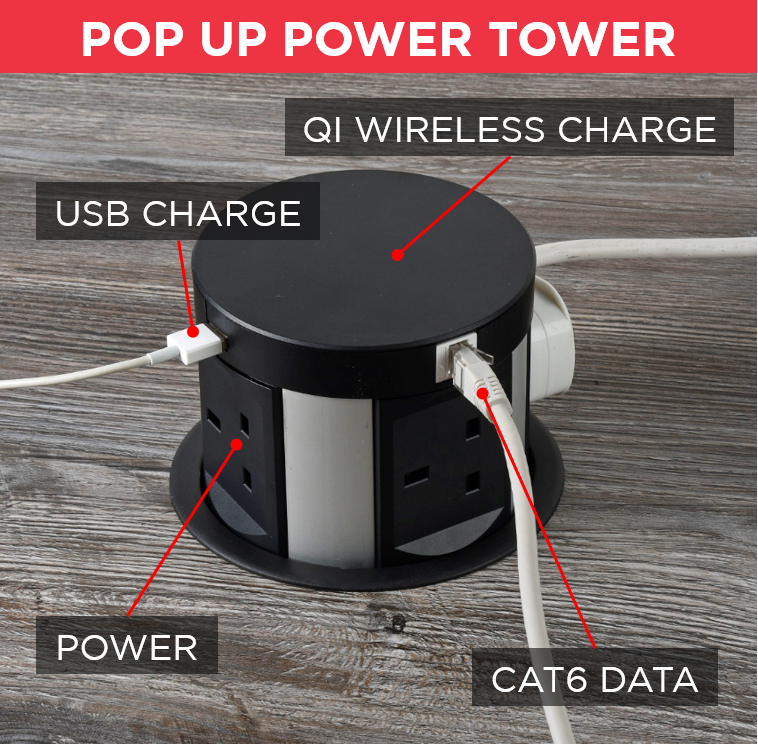 Automatic Pop Up Power Tower