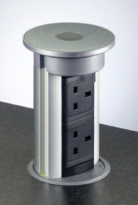 Flush Fitting Concealed Pop Up Sockets Buy Online Box15