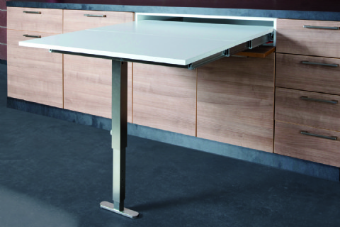Pull Out Kitchen Table t-able pull out kitchen table worktop | buy online | box15