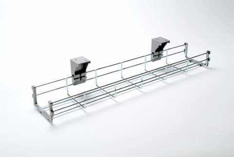 800mm Office Desk Wire Cable Basket | Buy Online | BOX15